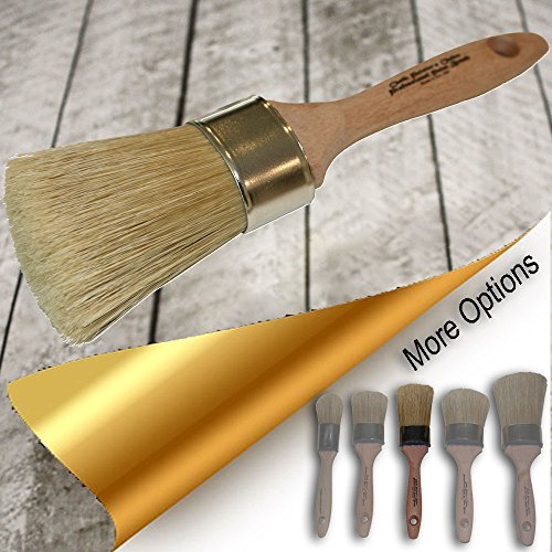 Chalk Painter's Choice - LG Oval Paint & Wax Elite Brush {O15e} by Chalk Painter's Choice