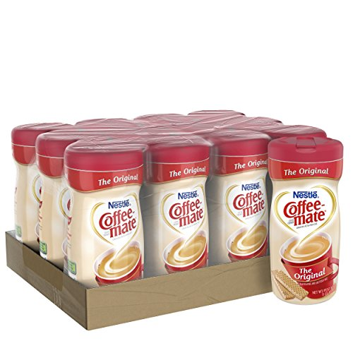 NESTLE COFFEE-MATE Coffee Creamer, Original, 11oz powder creamer, Pack of 12 (Office Supply Kona)