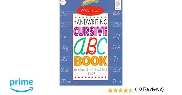 D'NEALIAN HANDWRITING CURSIVE ABC BOOK: Donald N. Thurber ...