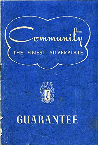 Community the Finest Silverplate Guarantee