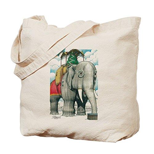 """CafePress-borsa con Lucy """", motivo: elefante, Margate NJ Tote Bag"""