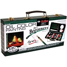 ROYAL BRUSH Royal and Langnickel Oil Color Painting Artist Set for Beginners (RSET-OIL3000) (RSET-OIL3000)