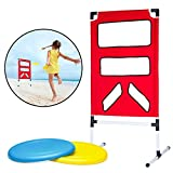 Outdoor Backyard Disc Toss Target Lawn Game - Kids Fun Family Outside Activities Flying Disc Throwing Game for Children Boys Girls Parties Tailgates Summer Camp Barbecue Events by Perfect Life Ideas