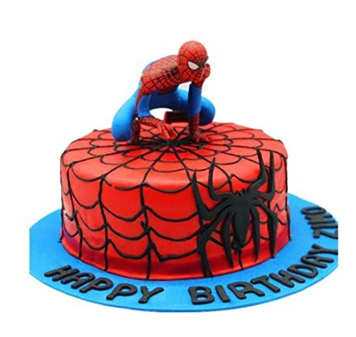 Spider Man Figurine (Spiderman Cake Topper Figurine Various Random Spider-man Designs)