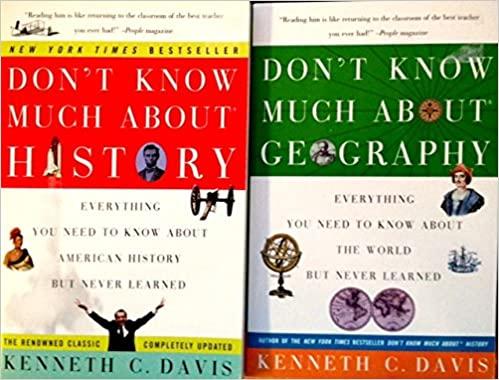 He Dont Know Much About Geography Or >> Don T Know Much About History Geography 2 Book Box Set
