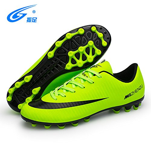 Xing Lin Chaussures De Football Chaussures De Foot Broken Nails Prairies Artificielles Ag Spike Tf Ongles Courts Formation Pour Les Femmes Chaussures Pour Enfants Chaussures De Soccer Adultes Hommes,