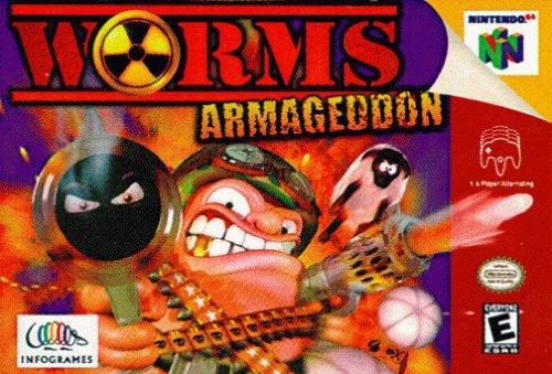 Worms Armageddon Nintendo 64