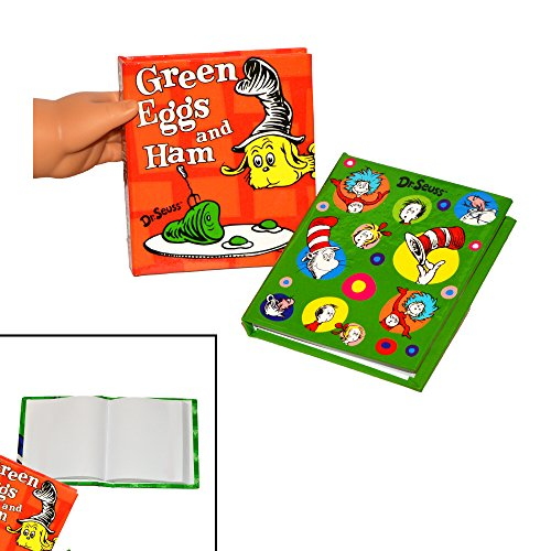 Unbranded 2 Dr. Seuss Books - Mini Books For American Girl Dolls - Books For 18 Inch Dolls - Accessories