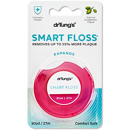 Dr. Tung's Smart Floss 30 Yards - Colors May Vary (Pack of 3) - Tungs Smart Floss