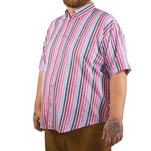Big pour homme Coton Vallée Rose à rayures pour homme 3x l 4x l 6x L