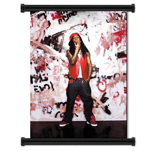 (Lil Wayne Singer Wall Scroll Poster (16x21) Inches)