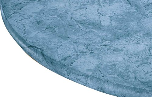 (Marbled Vinyl Elasticized Table Cover)