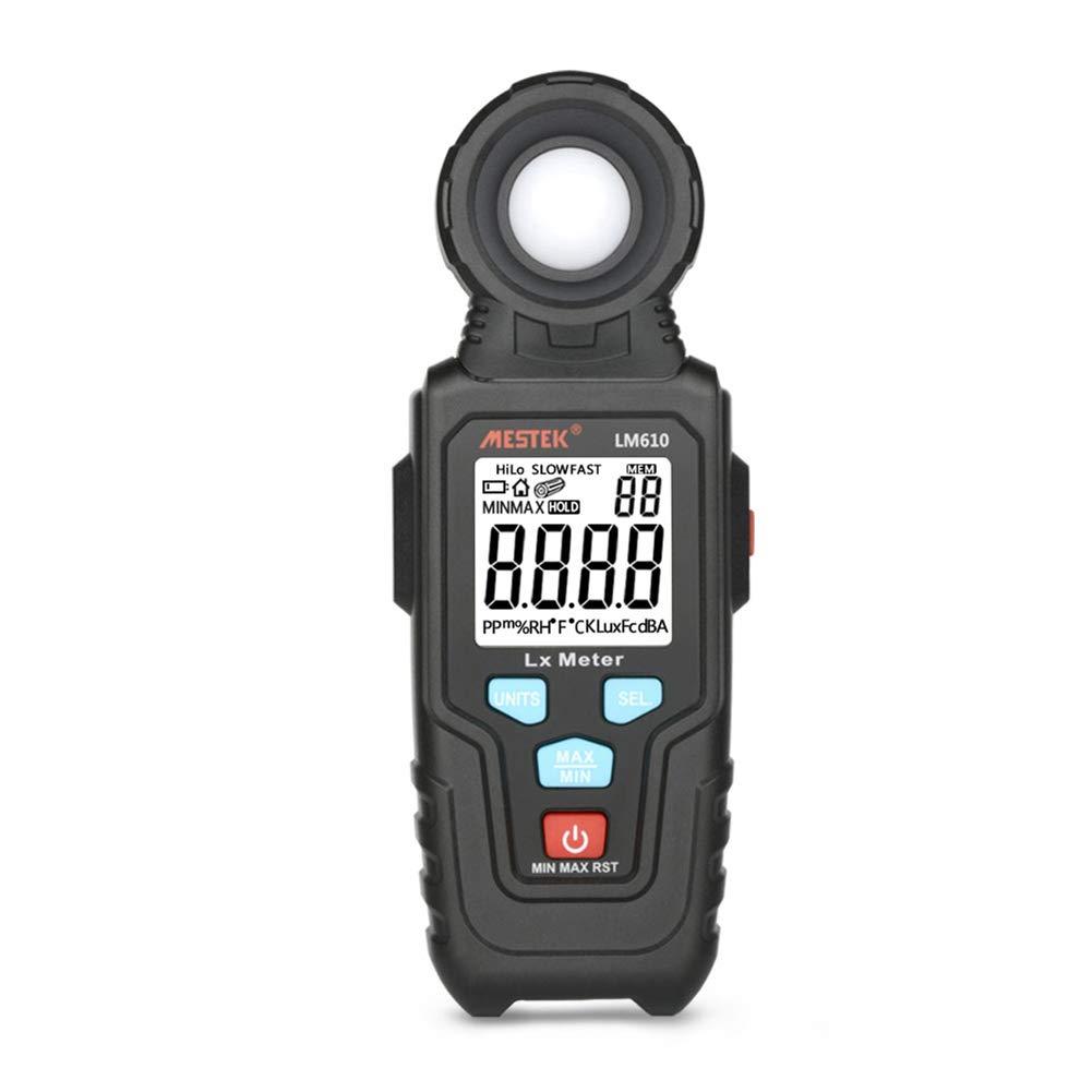 DZSF Portable Handheld Light Meter Lm610 10.000 LUX Digital Luminance Max Min Auto Range High Precision Illuminometers Photometer