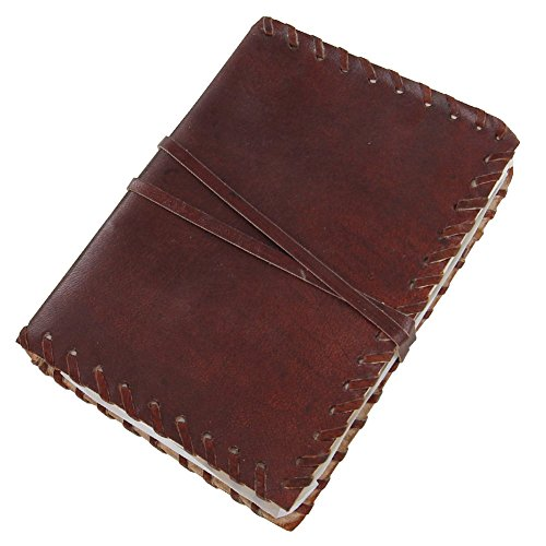 Medieval Renaissance Handmade Leather Diary Journal Thought Book by Armory Replicas (Journal Small Leather)