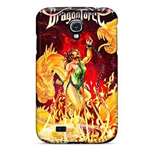 Samsung Galaxy S4 ZxY13179sZBI Customized High-definition Dragonforce Band Series High Quality Hard Phone Cases -SherriFakhry