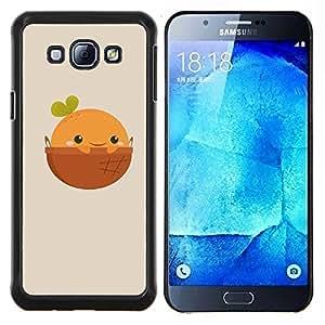 For Samsung Galaxy A8 A8000 Case , Naturaleza Cliff Castle- Diseño Patrón Teléfono Caso Cubierta Case Bumper Duro Protección Case Cover Funda