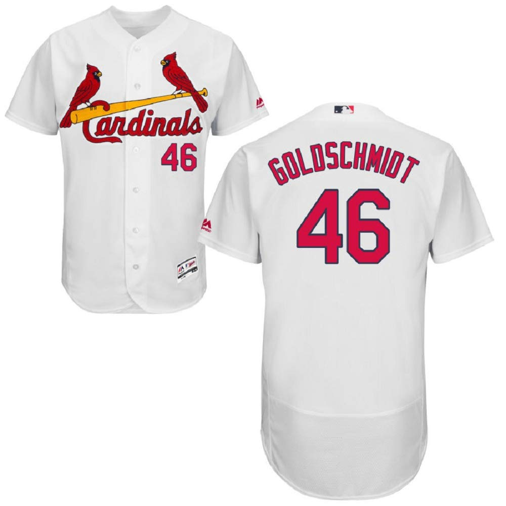 new style 9f862 46f16 St. Louis Cardinals Majestic Home Flex Base Authentic Collection Paul  Goldschmidt Jersey-White