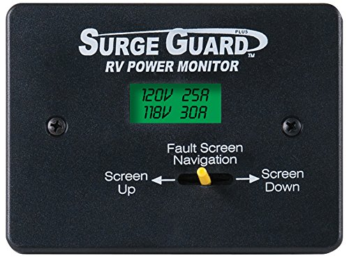 Technology Research (40300) Remote Power Monitor LCD Display with 50' Cord by Technology Research
