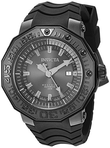 Invicta Men's 'Reserve' Automatic Stainless Steel and Sil...