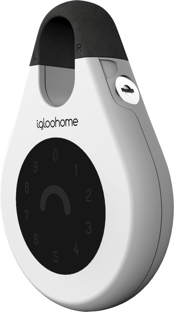 igloohome Smart Key Storage Lockbox, Grant & Control Access Remotely Offline, Compatible with Alexa and Google Home (Black) IGK-01.1