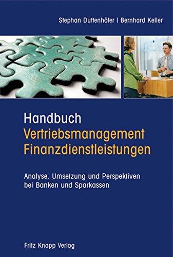 Handbuch Vertriebsmanagement Finanzdienstleistungen