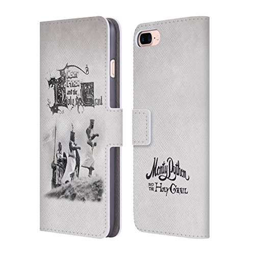 Official-Monty-Python-Holy-Grail-Key-Art-Leather-Book-Wallet-Case-Cover-For-Apple-iPhone-7-Plus