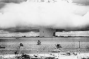 Atomic Bomb Mushroom Cloud Photo Print Poster - 40x60 Door Poster Print, 60x40