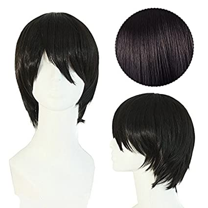 Bluelover Short Straight Costume Hair Wig Cosplay For Voltron