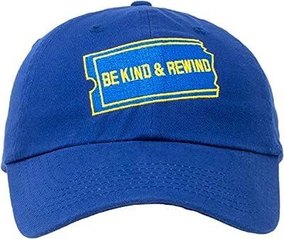 Be Kind Rewind Hat | 1990s 90s Nostalgia Pop Culture Baseball Dad Cap Men Women