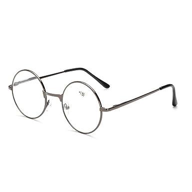 riesige Auswahl an Finden Sie den niedrigsten Preis sehr günstig BestWahl Lesebrille Rund Metall Retro Brille Runde Damen Herren Schwarz  Grau Golden Silber von +1,0 +1,5 +2,0 +2,5 +3,0 +3,5 +4,0 Lesebrillen