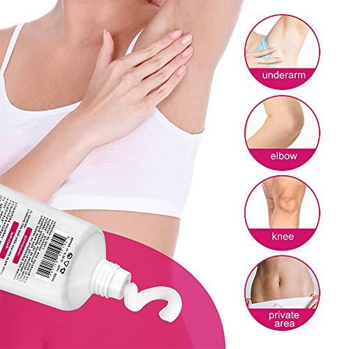 Intimate Skin Lightening Cream for Body, Bikini and Sensitive Areas - (2 PacksSkin Whitening Cream Contains Hydrolyzed collagen, Glycerol, Nano Titanium Dioxide 60ml / 2 oz (2Pack)