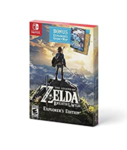 The Legend of Zelda: Breath of the Wild - Explorer's Edition - Switch