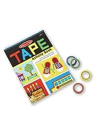 Melissa & Doug Tape Activity Book: 4 Rolls of Easy-Tear Tape ...