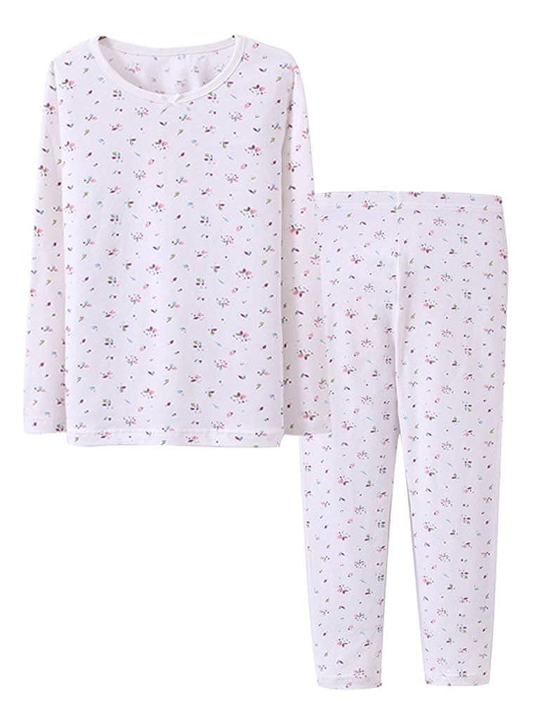 Zegoo Boys /& Girls Cotton Pajamas Set Thermal Underwear 36 Designs 24M-13T Kids
