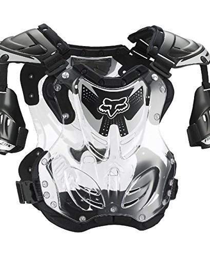 (Fox Racing R3 Men's Roost Deflector Motocross Motorcycle Body Armor - Black/Large)