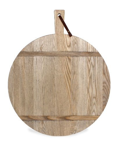 J.K. Adams 1761 Collection Ash Cutting/Serving Board, Round, Large For Sale