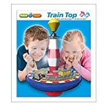 Maro Toys Train Top Spinning Playset with Lights and Music