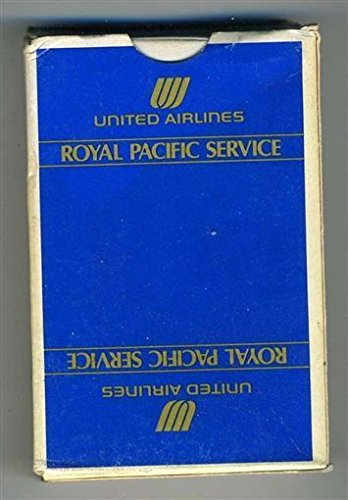 United Airlines Royal Pacific Service Deck of Playing ()