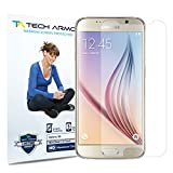 Galaxy S6 Screen Protector, Tech Armor High Definition HD-Clear Samsung Galaxy S6 Screen Protector [3-Pack]