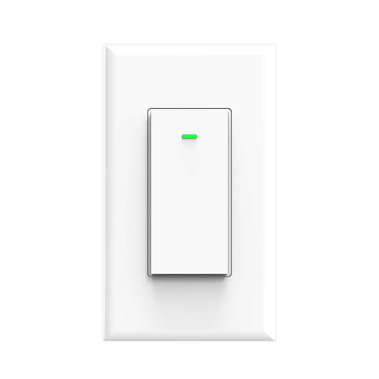 Alexa Smart Switch Wifi Wall Light Switch, Works with Google Home and IFTTT