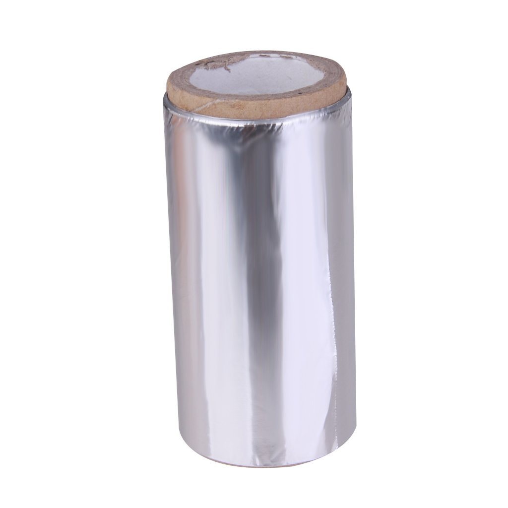 Hair Colored Foil Roll Hair Styling Tin Foil Salon Hairdressing Tools Generic