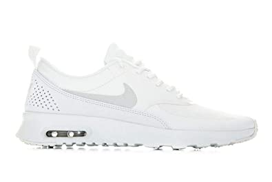innovative design 2bd2b abc67 Nike WMNS Air Max Thea, Chaussures d Athlétisme Femme, Multicolore Platinum  Tint
