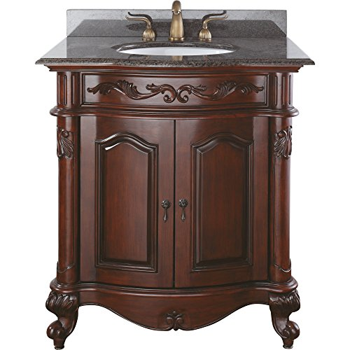 Avanity Provence 30 in. Vanity Only in Antique Cherry finish (Provence Bath Vanity)