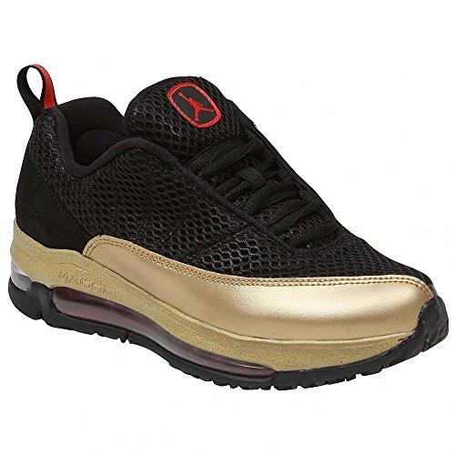 Nike Kids's Nike Girls Jordan CMFT Air Max Training Shoes 7 (Black/Crimson/Metallic Gold) by NIKE