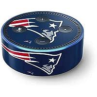 NFL New England Patriots Echo Dot (2nd Gen, 2016) Skin - New England Patriots Large Logo Vinyl Decal Skin For Your Echo Dot (2nd Gen, 2016)