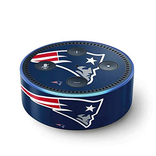 NFL New England Patriots Echo Dot (2nd Gen, 2016) Skin - New England Patriots Large Logo Vinyl Decal Skin For Your Echo Dot (2nd Gen, 2016) by Skinit