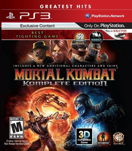 Mortal Kombat: Komplete Edition - Playstation 3 (Games Ps3 Fighting)