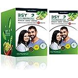 BSY Noni Black Hair Magic Herbal Hair Color Dye Shampoo-20mlx12pcs