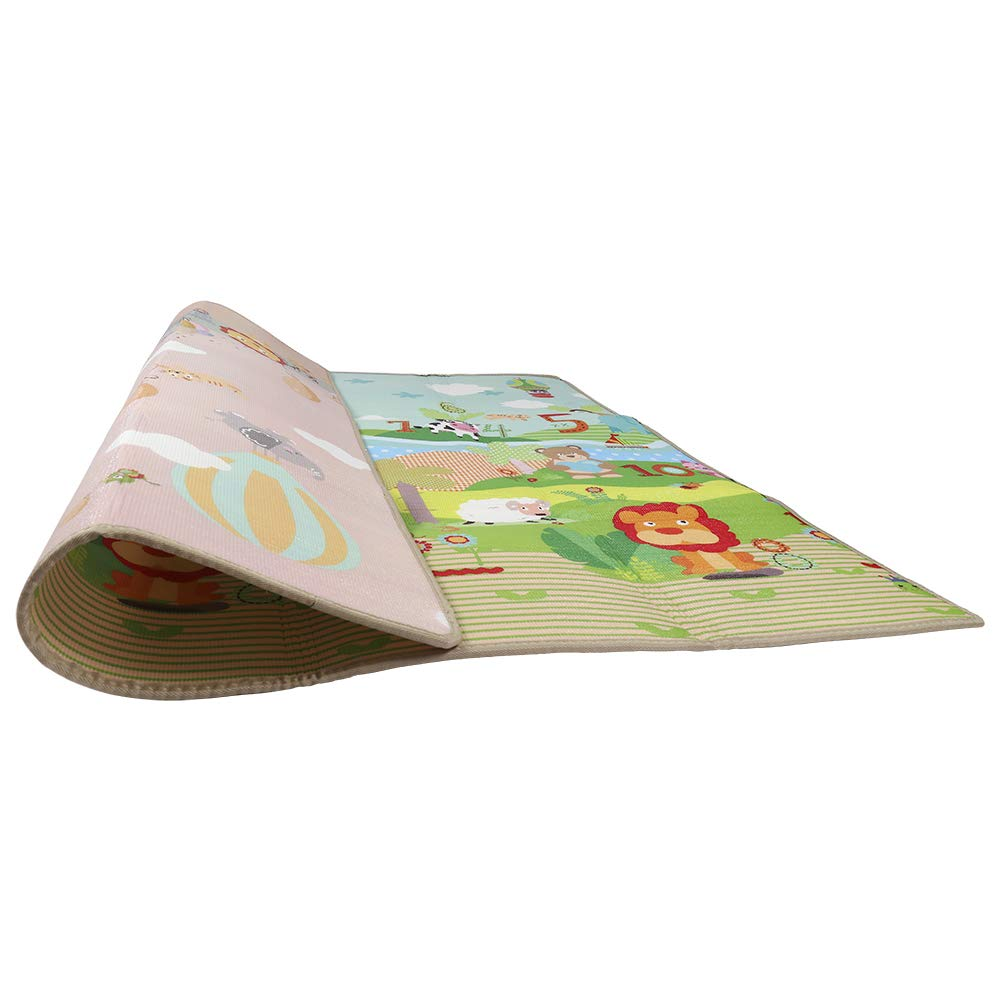 Salotto tappeti per Home Gift Warooma Baby Crawling Mat Game Pad Antiscivolo Impermeabile Tappeto Gioco per Bambini Non tossico Kids Decorazione Camera da Letto A