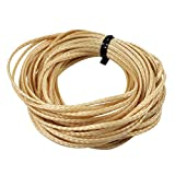 ASR Outdoor Technora Composite Survival Rope 1200lb Breaking Strength 25ft Tan